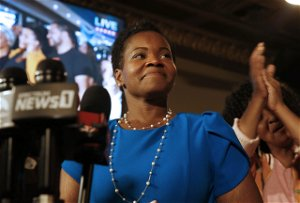 Buffalo's India Walton won the Democratic primary for mayor. Now she has to defeat incumbent Byron Brown -