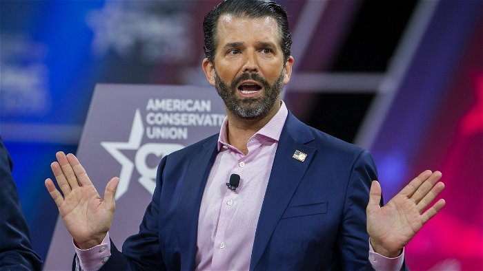 Donald Trump Jr says he will pass time in Covid isolation by cleaning his guns
