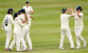 England v India: Tourists suffer dramatic late collapse after 96 from Shafali Verma
