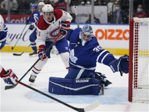 Mrazek practises with Maple Leafs, inching closer to return ... GameNight at Chicago