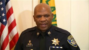 Retired Oakland police captain in critical condition after gas station shooting caught on video