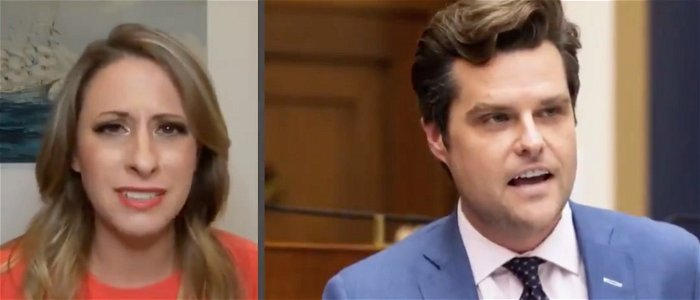 Ex-Rep. Katie Hill: 'Gross' for Gaetz to invoke my name