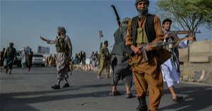 How do Afghanistan forces and Taliban compare?