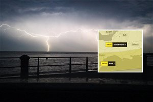 Hail goodbye to heatwave: warning over thunderstorms and flooding