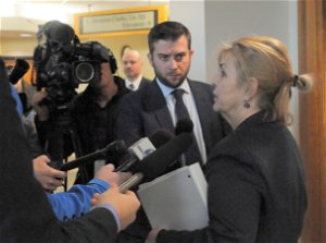 Susan Holmes ordered to return to court for status hearing, sentencing following mistrial