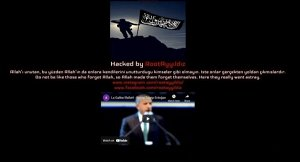 Purported hacker claims they defaced Trump's campaign website to protest Joe Biden's stance on Turkey