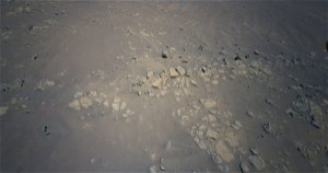 NASA Mars helicopter scouts rocks with 'curious lines' that may hint at a history of water