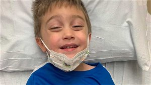 'He is so brave': Family keeps hope for Owen, 4-year-old battling cancer