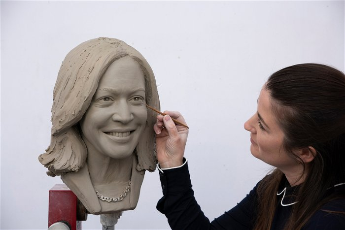 Harris to become first vice president with wax statue at Madame Tussauds