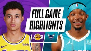 Postgame Notes: Lakers 101, Hornets 93 (4/13/21)