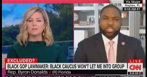 Rep. Byron Donalds Blasts CNN: 'As A Black Man In America, I'm Allowed To Have My Own Thoughts'