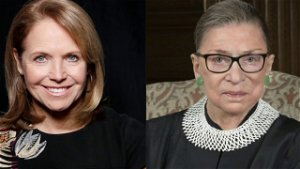 Katie Couric slammed for 'protecting' Ruth Bader Ginsburg by covering up controversial National Anthem remarks