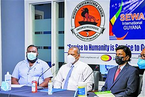 HSS, Sewa donate oxygen plant to Ocean View facility