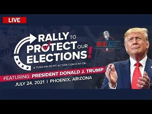 Donald Trump spreads more election lies at Arizona rally