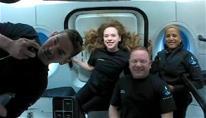 SpaceX's Inspiration4 crew to return to Earth on Saturday evening