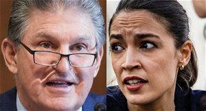 'Weird, patronizing behavior': AOC lets rip at Manchin's 'young lady' remark