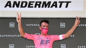 Uran wins stage 7 time trial to set up thrilling final day at Tour de Suisse