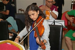 Afghan all-female orchestra keeps music alive in exile