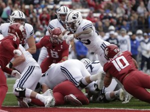 BYU gets physical with Tyler Allgeier in 21-19 win over Washington State