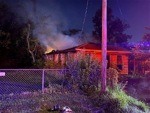 Vacant home destroyed in early morning fire on near northeast side