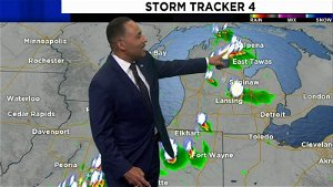 Metro Detroit weather: Increasing clouds with showers and thunderstorms