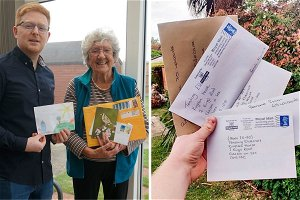 Love in a letter helps hundreds of residents to beat loneliness