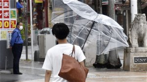 Tokyo Olympics threatened by tropical storm