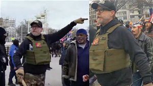 [Opinion] Proud Boy insurrectionist wants out of jail because he has an owie in his back