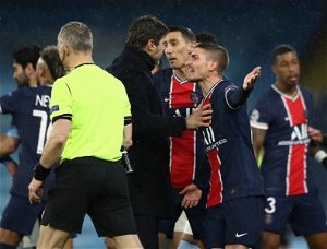 Referee told PSG star Paredes to 'f*ck off' in Man City defeat, claims Herrera