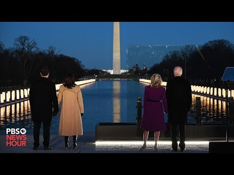 Joe Biden grieves Covid victims on eve of his inauguration: 'To heal, we must remember'