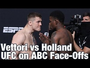 UFC Vegas 23: 'Holland vs. Vettori' Live Results and Highlights