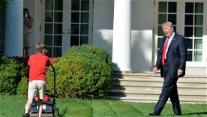CNN obsesses about Trump's White House lawn while burying Biden's underwhelming jobs report