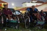 Cambodia's cash-strapped cyclo drivers treated to pedal