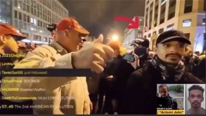 Holy Crap! Protester in MAGA Hat Spotted Next to Antifa's John Sullivan on Jan. 5 Urged Protesters to Storm US Capitol on 6th -- Is Identified -- Smells Like Informant??