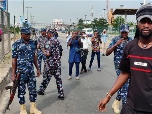 Police fire teargas to pursue June 12 protesters for Lagos, Abuja