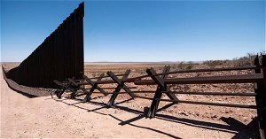 Amid border crisis, DHS says remaining wall funds will be prioritized for levee repair, soil erosion