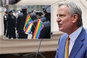 Mayor Bill de Blasio calls NYC Pride's ban on NYPD participation a mistake