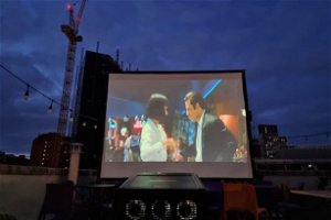 Review: The rooftop cinema in Cardiff where you can watch films under the stars