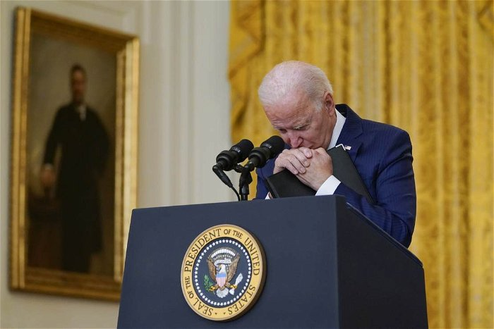 Aides try to keep Biden away from unscripted events or long interviews, book claims