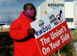 Hearing officer recommends Amazon union election be held again