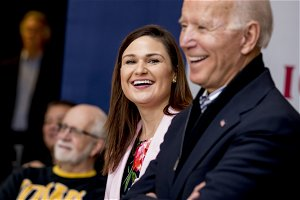 Democrat Abby Finkenauer is running for the U.S. Senate seat long held by Chuck Grassley