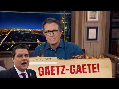 Colbert mocks Gaetz after Trump denies he asked for a pardon