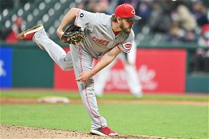 Cincinnati Reds left-hander Wade Miley throws fourth no-hitter of MLB season in 3-0 victory over Cleveland Indians