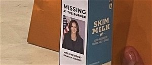 Scalise Puts Photo of 'Missing' Harris on a Milk Carton