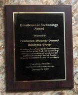 Frederick minority owned business Facebook page wins an award