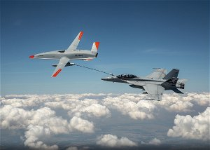 US Navy, Boeing conduct first-ever aerial refueling with unmanned tanker