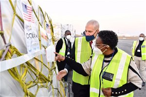 Covid-19: SA receives 2.8 million Pfizer vaccine doses from the US