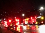 Dryer sparks blaze at Detroit center, officials say