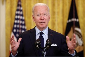 Biden reacts to weak jobs report, says US 'still digging out of an economic collapse,' but on 'right track'
