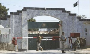 Pakistan Embassy in Kabul closes its consulate section due to a rise in the Coronavirus outbreak